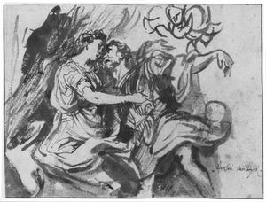 Venus ontwapent Mars na diens terugkeer uit de oorlog (Lucretius, De rerum natura I, 29-40)
