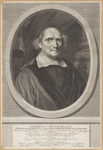 Portret van Gisbertus Voetius (1589-1676)