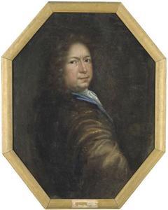 Zelfportret van David Klöcker Ehrenstrahl (1629-1698)