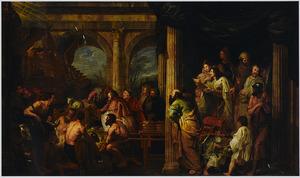 Salomo's offers bij de wijding van de Ark des Verbonds (1 Koningen 3:5)