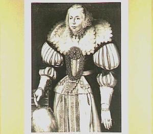 Portret van  Sjouck van Aebinga (..-1630), eerste echtgenote van Watze van Cammingha
