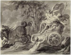 Pluto ontvoert Proserpina (Metamorfosen)