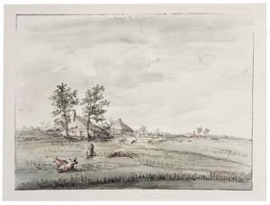 Landschap bij Zwolle