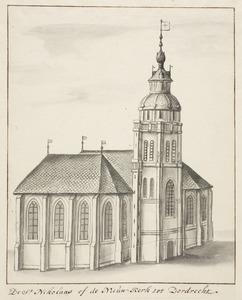 De Sint Nicolaaskerk of Nieuwkerk in Dordrecht