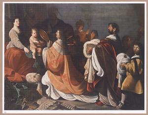 De aanbidding der koningen