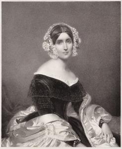 Portret van Priscilla Anne Wellesley -Pole (1793-1879)