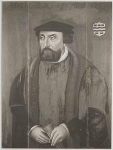 Portret van Willem Simonsz. Stavenisse (1498-1557)
