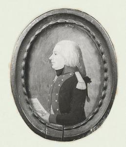 Portret van Augustinus Aemilius Geukama (1762-1803)