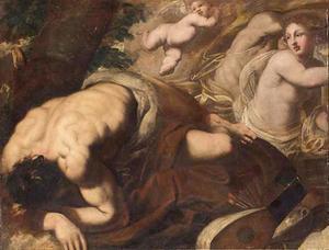 Allegorie op de kunsten (?)