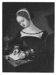 De H. Maria Magdalena schrijvend