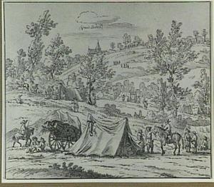 Kampement bij Grand-Halleux