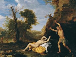 Cephalus en  Procris (Ovidius 7:795-866) of Apollo en Coronis (Metamorfosen 2:602-620)