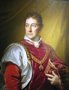Portret van Antoni Józef Lanckoroński (1760-1830)