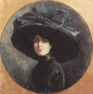 Portret van Jeanette Josephina Maria Slager (1881-1945)