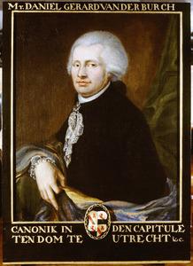 Portret van Daniel Gerard van der Burch (1755-1824)