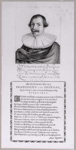 Portret van Franciscus van Heerman (....-....)