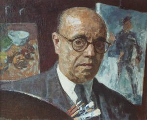Portret van Jean Albert Pollones (1882-1975)