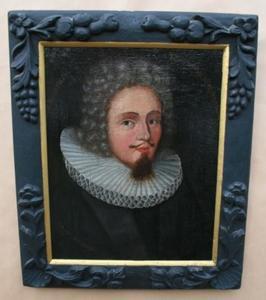 Portret van predikant Jacob Christian Jenssen Bandtzbil (1672-1732)