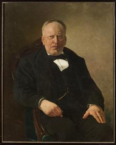 Portret van William Archibald van de Wall Bake (1834-1893)
