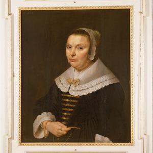 Portret van Elisabeth van der Vinck