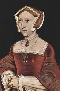 Portret van Jane Seymour (1509?-1537), koningin van Engeland en derde vrouw van Hendrik VIII