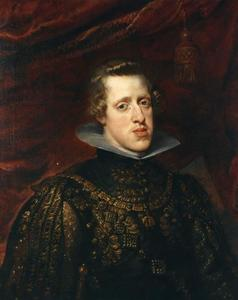 Portret van Filips IV van Spanje (1605-1665)