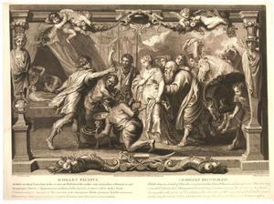 Briseis wordt aan Achilles teruggegeven