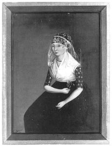 Portret van Trijntje Aukes Douma (1804-1867)