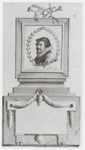 Portret van Gerbrand Adriaansz Bredero (1585-1618)
