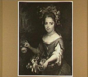Portret van Catharina Adriana de la Court (1690-1752), dochter van Pieter de la Court van der Voort (1664-1739)