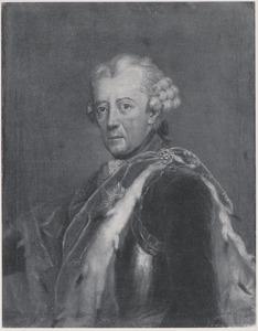 Portret van Friedrich II, Frederik 'de Grote' van Pruisen (1712-1786)