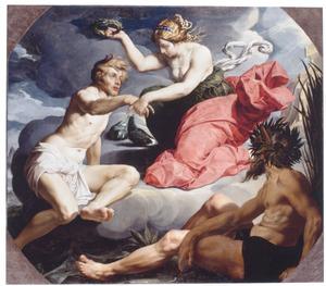 Venus kroont Aeneas