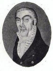 Portret van Abraham Willem Constantinus Keyser (1753-1819)
