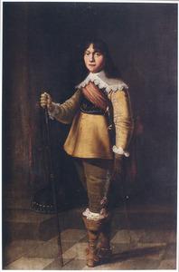 Portret van een jonge officier