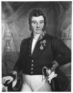 Portret van Augustinus Theodorus van Rijckevorsel van Kessel (1783-1846)