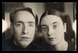 Portret van Wim Oepts en zijn vrouw Nel