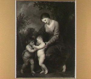 Maria met het Christus kind en Johannes de Doper