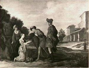 Isaac ontvangt Rebecca  (Genesis 24:62-63)