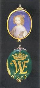 Portret van Wilhelmine Ernestine van Denemarken (1650-1706)