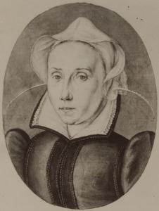 Portret van Elisabeth (Lijsbeth) van Leuven (1543-1625)