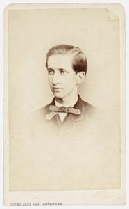 Portret van Cornelis Theodoor Johan van Oordt (1845-1879)