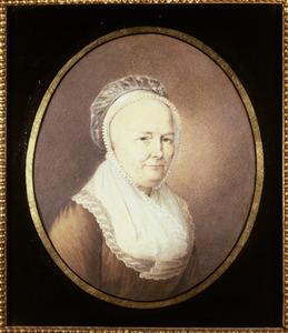 Portret van Jacoba van Zwijndrecht (1750-1827)