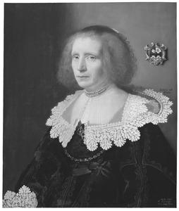 Portret van Maria van Kinschot (1589-1648)