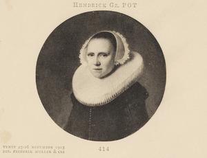 Portret van Margareta Gerbrandsdr (...-...)