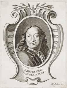 Portret van Bartholomeus van der Helst (1613-1670)