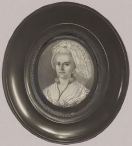 Portret van Johanna Henrietta Rosina Bouman (1766-1821)