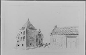 Linker- en voorzijde van Hinderstein bij Langbroek