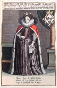 Portret van Maria van Brimeu ( ....-1605)