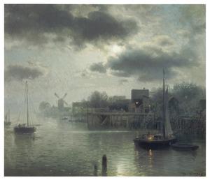 Maanlicht in Holland