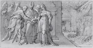 Het huwelijk van Tobias en Sara en hun eerste huwelijksnacht (Tobias 7 en 8)